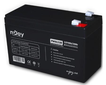NJOY PW9123 baterija za UPS 12V 9Ah (ACPW-09123PW-CB01B)