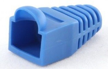 BT5BL/5 Gembird Kapice za LAN konektore blue (pakovanje 100 kom)
