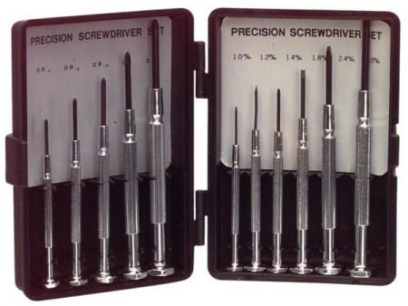 ASS-1101SUPER Screwdriver Set 6x Flat / 5x PH Precision