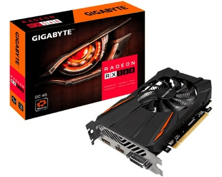 GIGABYTE AMD Radeon RX 560 GAMING 4GB 128bit GV-RX560OC-4GD rev.2.0