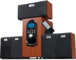 Genius SW-HF5.1 6000,Maple Wood,200W