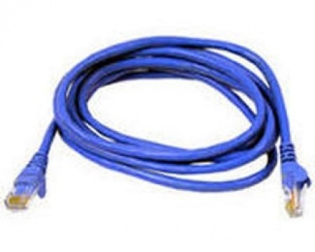 E-GREEN Kabl UTP patch Cat6 1m plavi