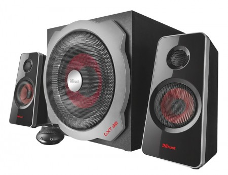 Trust Gaming GXT 38 2.1 Ultimate Bass Speaker set crni