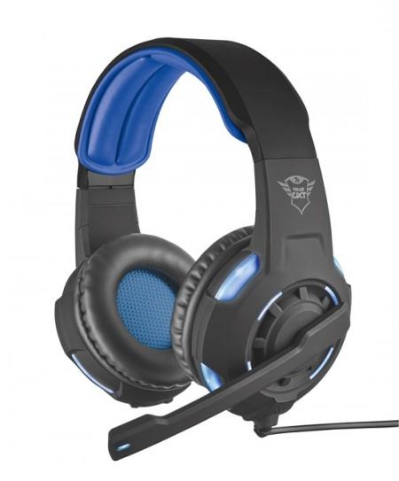 Trust Gaming GXT 350 Radius 7.1 surround headset plavo-crni