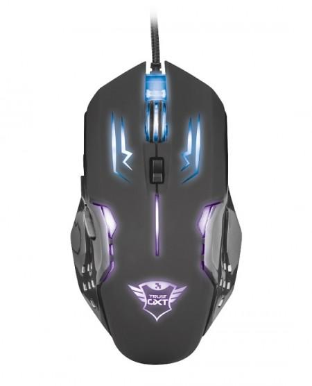 Trust Gaming GXT 108 Rava Illuminated miš crni