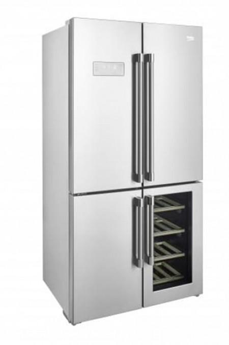 BEKO GN 1416220 CX 544l 91x179x72cm  side by side frižider