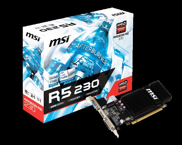 AMD Radeon R5 230 2GB 64bit R5 230 2GD3H LP