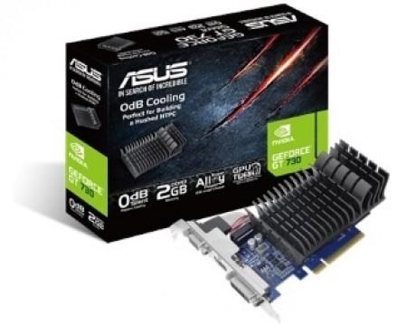 ASUS nVidia GeForce GT 730 2GB 64bit GT730-SL-2G-BRK-V2