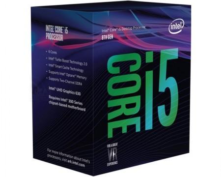 INTEL Core i5-8400 6-Core 2.8GHz (4.0GHz) Box