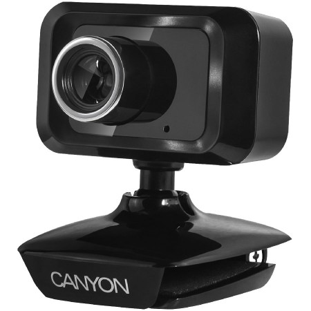 CANYON Enhanced 1.3 Megapixels resolution webcam with USB2.0 connector (CNE-CWC1)