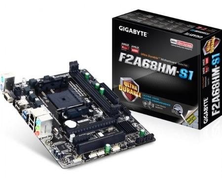 FM2+ GIGABYTE GA-F2A68HM-S1 rev.1.1