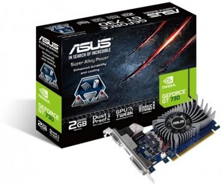 ASUS nVidia GeForce GT 730 2GB DDR5 64bit (GT730-2GD5-BRK)