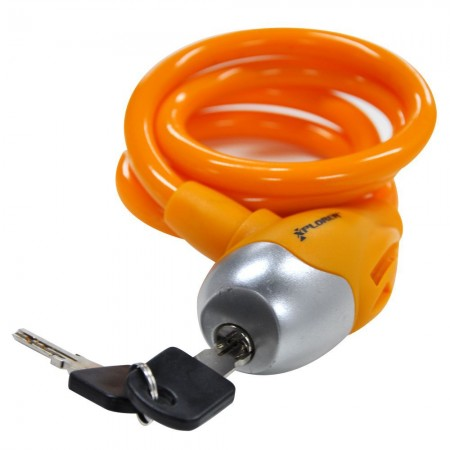 Lokot na ključ Xplorer 10x1000 mm narandžasti (6293)