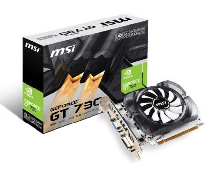 MSI nVidia GeForce GT 730 2GB 64bit N730K-2GD3OCV1