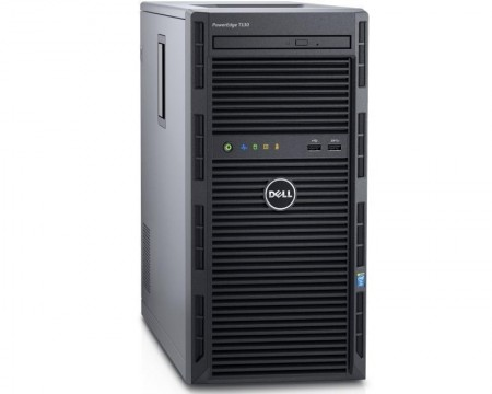DELL PowerEdge T130 Xeon E3-1230 v6 4C 2x8GB H330 2x1TB NLSAS DVDRW 3yr NBD + VMware ESXi