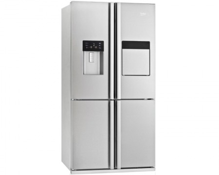 BEKO GNE 134621 X 373l 92x182x72cm side by side frižider
