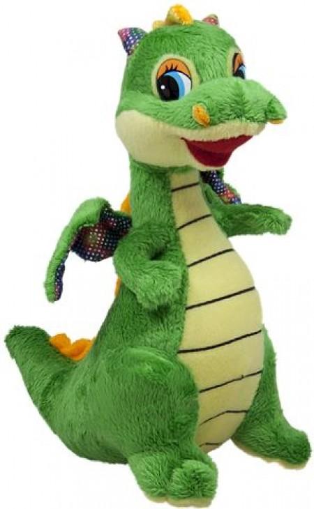 Pliš zeleni Dino