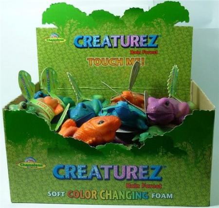 Igračka životinja 12-16 cm, sorto boje, kameleon, kornjača, žaba .  DOTAKNI, STISNI  I PROMENIĆE BOJU OD TOPLINE RUKU.Uzrast 3+