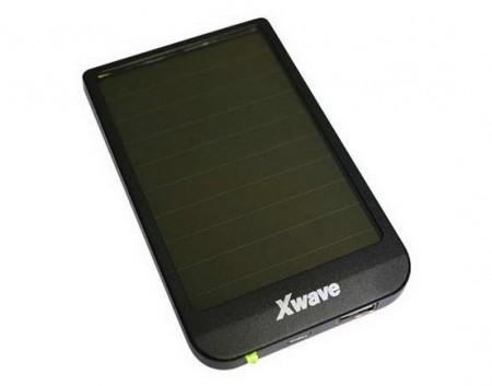 Xwave Solarna dodatna baterija(backup) 2600mAh, USB&USB micro kabl, XWAVE logo