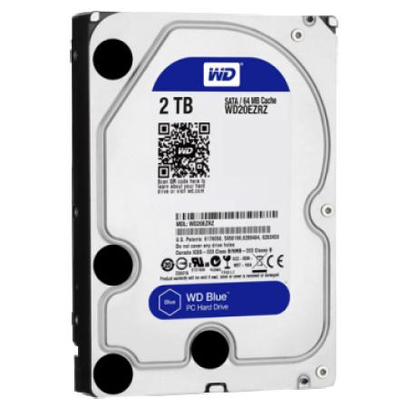 WD Blue WD20EZRZ, Kapacitet  2000 GB, 64 MB, 3,5, IntelliSeek rpm