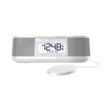 iLuv Timeshaker Micro BT Dual Alarm Shaker (TimeShaker Micro) White