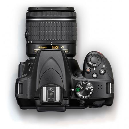 NIKON D3400 + 18-55mm VR AF-P Crveni DSLR Amat