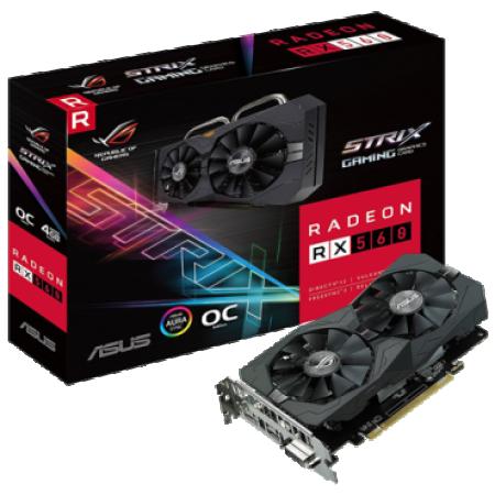 ASUS ROG Strix Radeon RX 560 4GB Gaming GDDR5 ROG-STRIX-RX560-O4G-GAMING