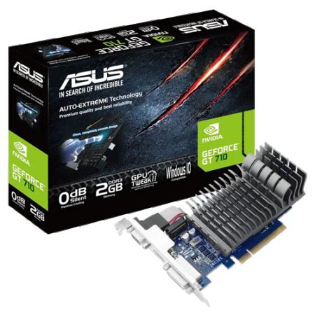 ASUS nVidia GeForce GT 710 2GB 64bit 710-2-SL
