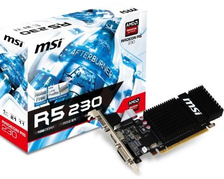 MSI AMD Radeon R5 230 1GB 64bit R5 230 1GD3H LP
