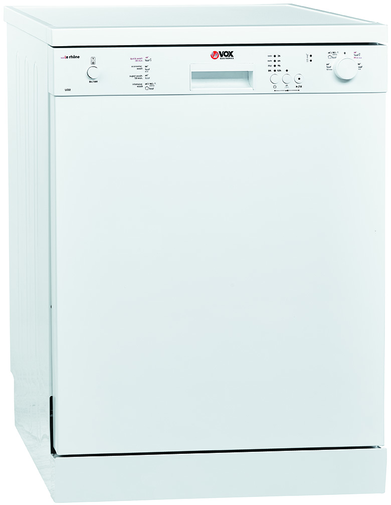 VOX LC22 60 cm, za 12 kompleta, A+AA klasa, odlozen start, pola pranja