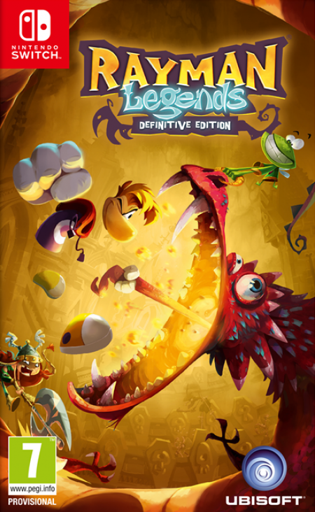 Ubisoft Entertainment Switch Rayman Legends Definitive Edition