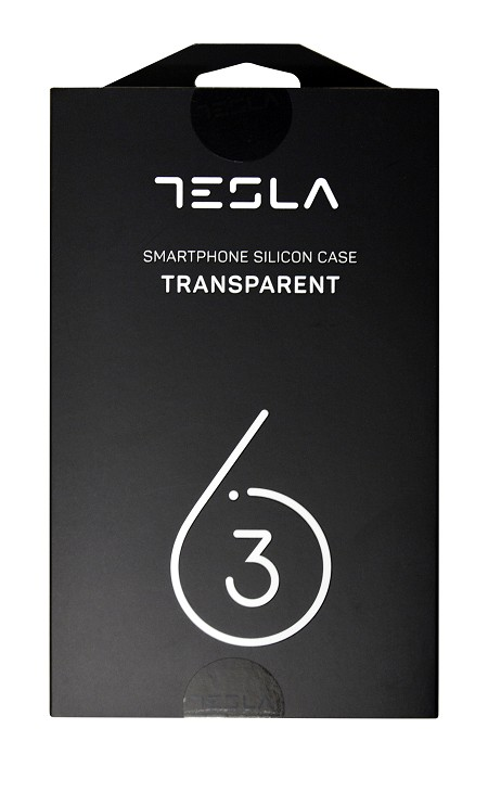 Tesla transparent silicon cover for 6.3