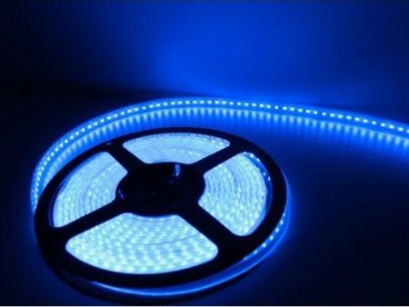 XLED Led Traka  60 Led dioda/m,plava,sobna(IP20), 5m kotur,10mm,jednostrani pcb, 14.4W/m,DC12V