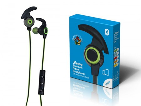 Xwave MX85 green BT stereo slusalice sa mikrofonom v4.2, Baterija 80mAh, 5sati razgovor, 10m udaljenost, Zelena