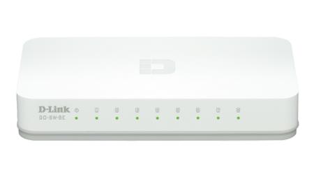 D-Link 8-Port GO GO-SW-8E Switch