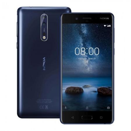 Nokia 8 (TA-1004) Dual Sim Polished Blue