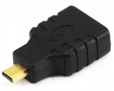 Adapter E-green Micro HDMI (M) - HDMI (F) crni