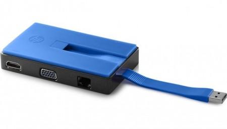 HP ACC Dock USB Travel Dock, T0K30AA