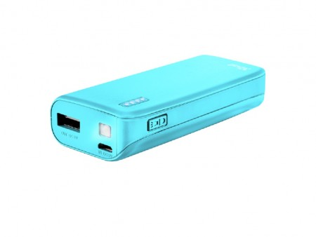Trust Primo Summer Power Bank 4400 prenosivi punjac plavi