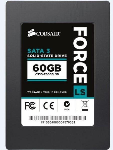 Corsair (CSSD-F60GBLSB/RF2) 2.5 60GB 540/440MB/s SSD