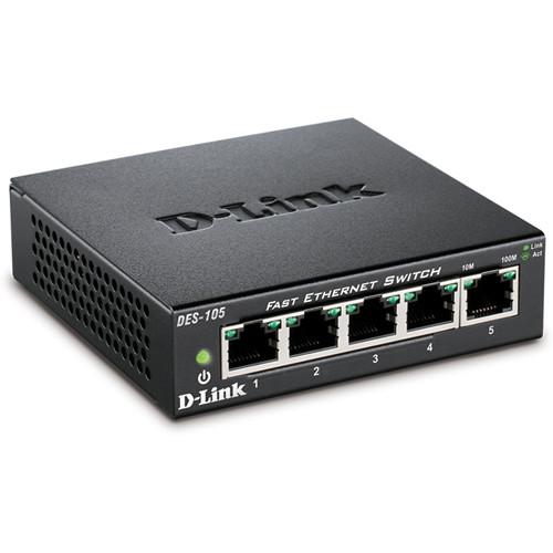 D-LINK DES-105 5-Port Switch