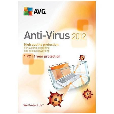 AVG Anti-virus 2012 (1User) 1g