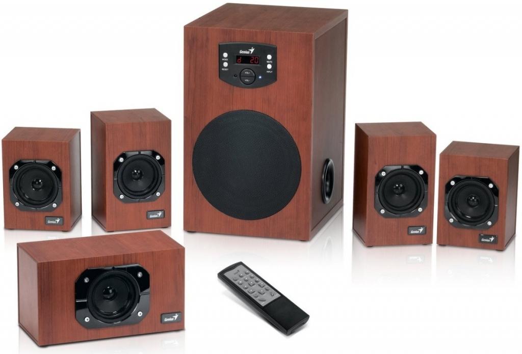 GENIUS SW-HF5.1 4800 5.1 Wood