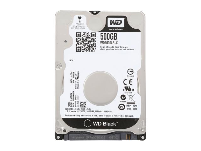 WD BOOK SATA3 2.5  500GB Black WD5000LPLX