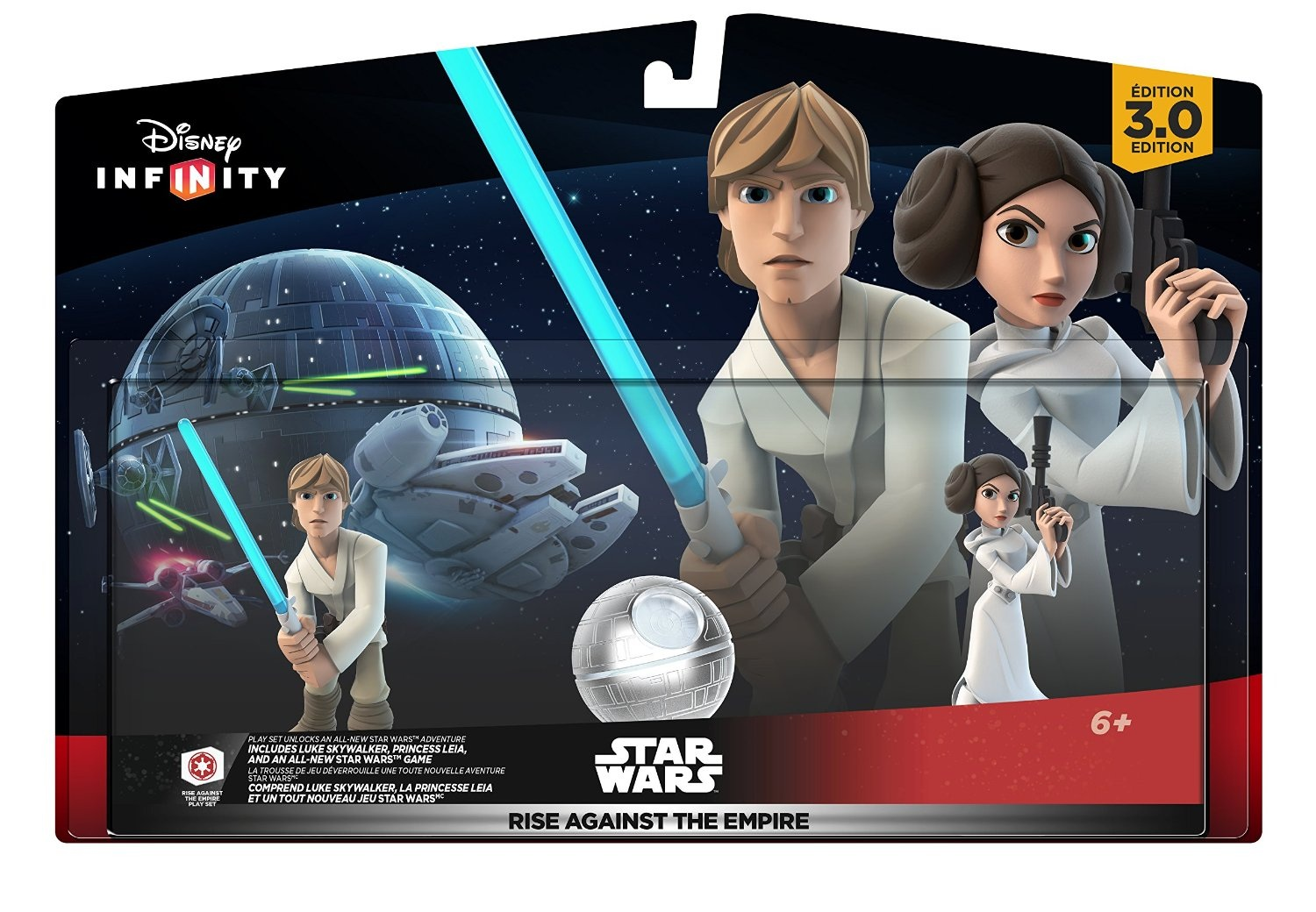 Infinity 3.0 Power Discs - Rise against the Empire (Luke, Leia and Playset piece)