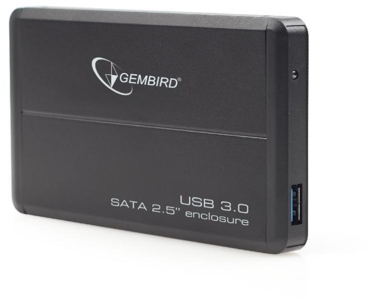 GEMBIRD EE2-U3S-2 Eksterni HDD rack za 2.5 hard diskove SATA disk na USB 3.0-2.0-1.1 CRNI