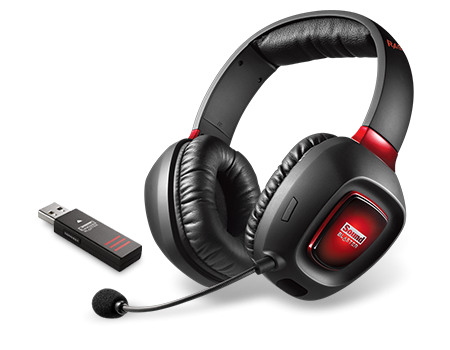 Creative Labs 3D Rage Gaming Headset Tactic  USB