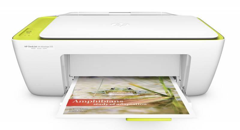 HP DeskJet Ink Advantage 2135 all-in-one F5S29C