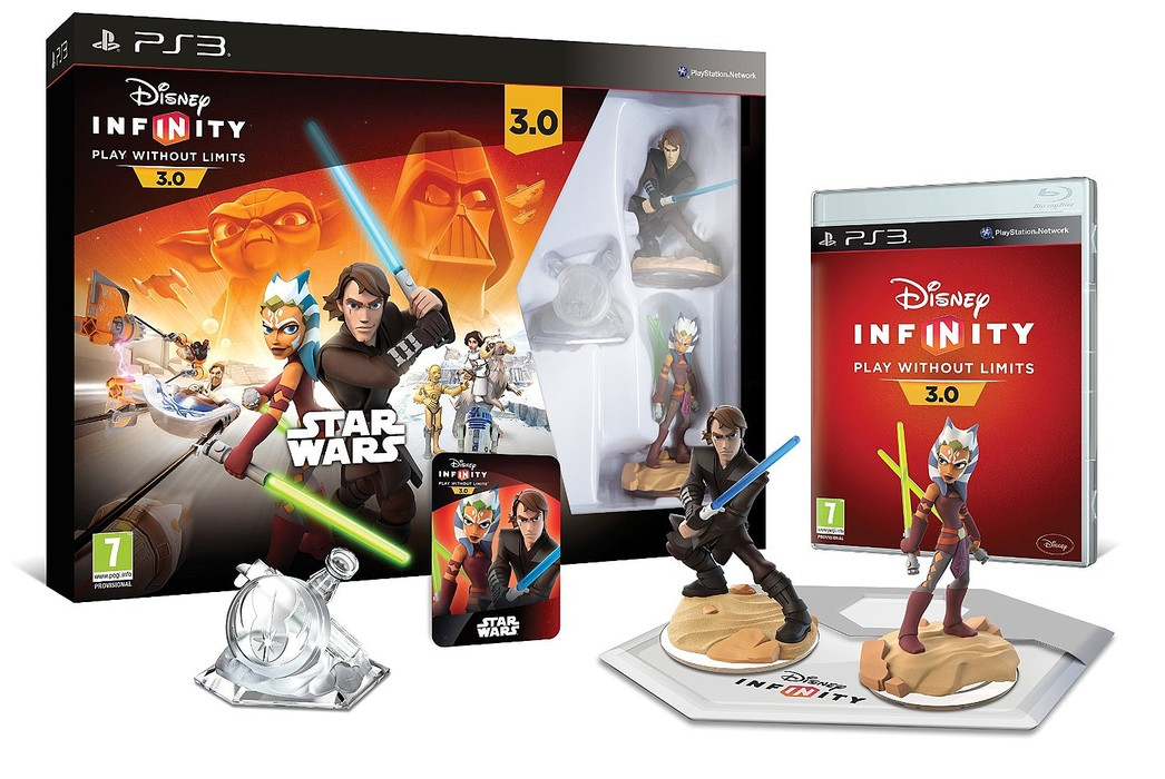 PS3 Infinity 3 Star Wars Starter Pack