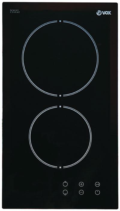 VOX EBC 200DB keramicka ploca,digitalne komande,1x145mm I 1x180mm